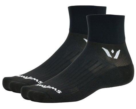 Swiftwick Aspire Two Socks (Black) (XL)