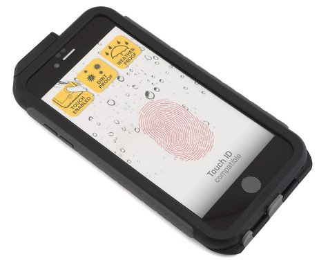 Topeak Waterproof RideCase w/ RideCase Mount (Black) (Phone 6 Plus)
