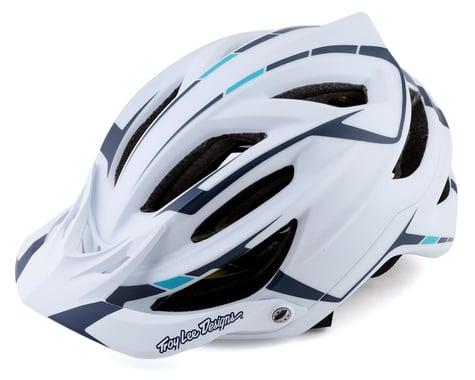 Troy Lee Designs A2 MIPS Helmet (Silver White/Marine) (M/L)