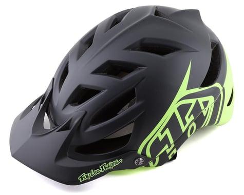 Troy Lee Designs A1 MTB MIPS Helmet (Classic Grey/Green) (M/L)