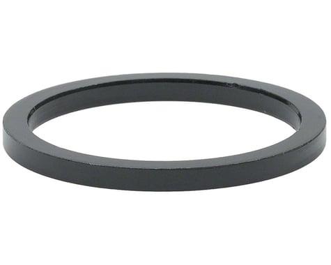 "Wheels Manufacturing 1-1/8"" Headset Spacers (Black) (5) (2.5mm)"