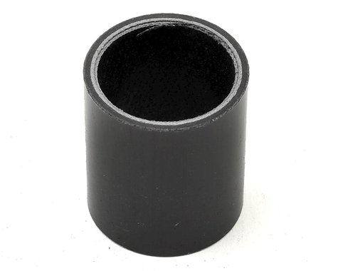 """Wheels Manufacturing 1-1/8"""" Carbon Headset Spacer (Black) (40mm)"""