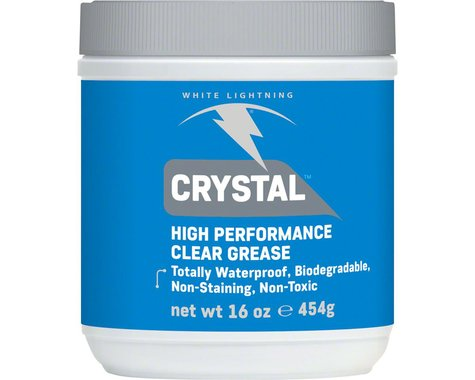 White Lightning Crystal, Clear Grease (Tub) (16oz)