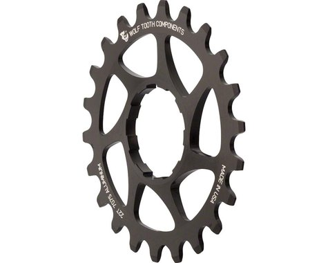 Wolf Tooth Components Single Speed Aluminum Cog (Black) (22T)