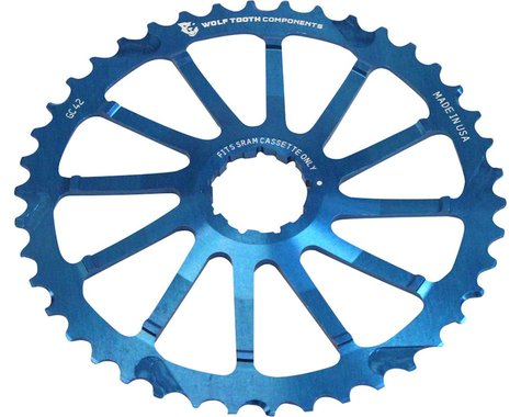 Wolf Tooth Components 42T GC Cog (Blue) (For SRAM 11-36T)