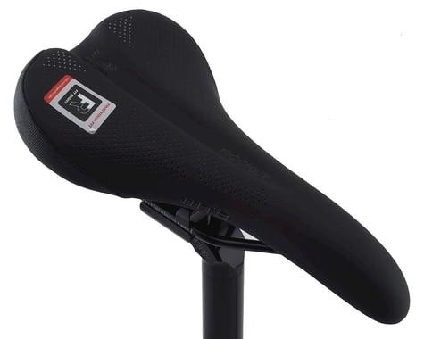 WTB Rocket Saddle (Black) (Steel Rails) (Medium) (142mm)