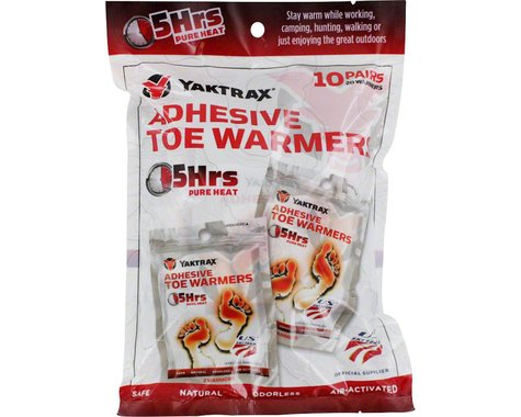 Yaktrax Warmers Toe Warmers (10 Pairs)